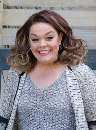 lisa riley looks unrecognisable as she shows off incredible eight