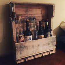 pallet wood wine rack w glass holder от hadracks на etsy wood
