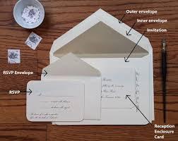 wedding envelope what goes in a wedding invitation envelope best 25 addressing