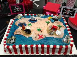 pirate birthday party pirate cake how to cake tutorial tutorials and learning