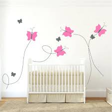 Vinyl Wall Decals For Nursery Nursery Wall Decals Nursery Butterfly Wall Decal Zoom Vinyl