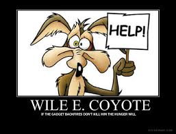 Wile E Coyote Meme - wile e coyote motivational by jswv on deviantart