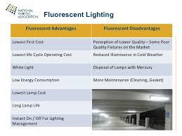 fluorescent l disposal cost sustainable parking npa 2011 carl walker inc