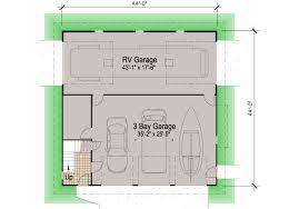 House Plans With Attached Garage Retirement Home Plans With Rv Garage