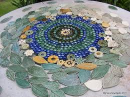 how to make a mosaic table top how to mosaic and make beautiful objects for home and garden leafy