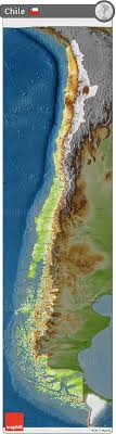 chile physical map free physical 3d map of chile darken