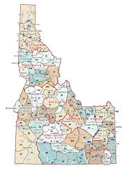 Idaho Counties Map Idaho Hunt Unit Map My Blog