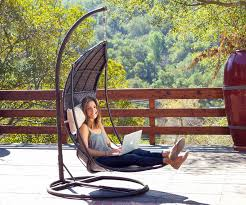 attractive hanging patio chair with hanging hammock chair outdoor