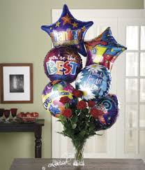 nationwide balloon bouquet delivery service roses and congratulations balloons at from you flowers