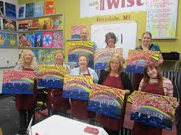 photo of painting with a twist ferndale mi united states i had
