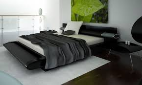 Contemporary Black King Bedroom Sets Bedrooms Black Modern Bedroom Set Modern Platform Bed U201a Bedroom