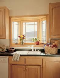 kitchen bay window decorating ideas home design