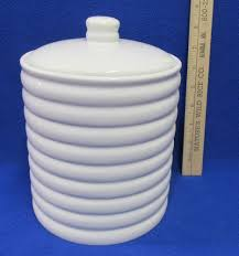 white ribbed kitchen canister sets http www canistersets com