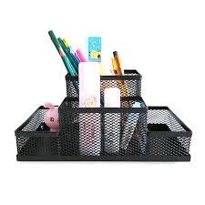 papeterie bureau mesh cube support en métal titulaire de combinaison bureau