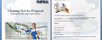 editable cleaning proposal archives ms office templates