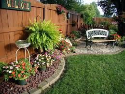 small backyard landscapes small backyard landscaping ideas on a