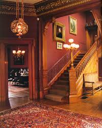 entrance hall after restoration history of a house museum
