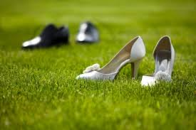 Happy Wedding Elsoar Free Stock Images Wedding Shoes In The Grass Field U2022 Elsoar
