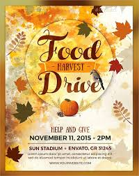 canned food drive flyer template yourweek 9bad70eca25e
