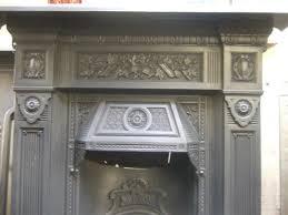 166mc u0027the repton u0027 victorian cast iron fireplace old fireplaces