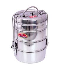 aristo lunch box 4 stainless steel container tiffin set buy