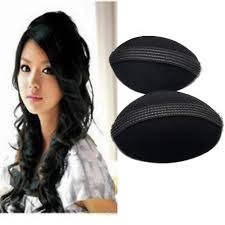 hair puff out of box set of 2 princess hair puff volumizer p