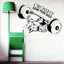 Skateboarding Wall Stickers Wall Decal Quotes Sport Body Building Crossfit By Decalsfromdavid