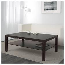 Lack Coffee Table Black Brown 118x78 Cm Ikea