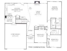 2 bedroom ranch floor plans 3 bedroom ranch floor plans septilin