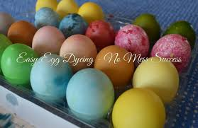 Coloring Eggs Easy Egg Dyeing U2013 No Mess Success U2013 The Playful Parent