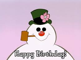 frosty happy birthday gif find share on giphy