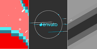 2d shape intro reveal abstract after effects templates f5