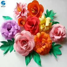 china paper flowers on wedding invitation cards china paper