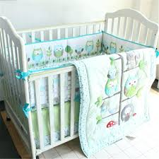 Boy Owl Crib Bedding Sets Awesome Size Plus Bedding Collections Crib Set Mint