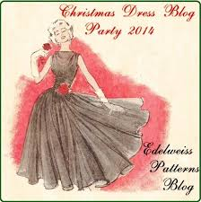 the christmas dress party 2014 edelweiss patterns blog