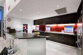 Modern Indian Kitchen Cabinets Architecture Adorable Red Accents Decorating Ideas In 2013 With