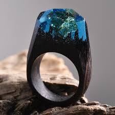 Geode Ring Box Millettia Laurentii Let U0027s Be Mermaids Pinterest Gold