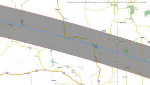 Time Zone Map Nebraska by Total Solar Eclipse 2017 Maps Of The Path