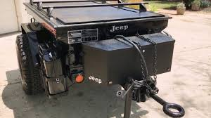 jeep bed plans m416 jeep off road expedition trailer with truck covers usa