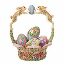 jim shore easter baskets spirit of easter jim shore basket with eggs nib 133860838