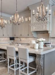 Kitchen Chandelier Lighting Kitchen With Three Hanging Chandeliers Choosing The Best