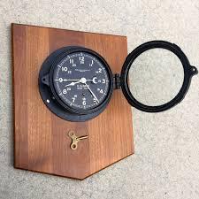 ww ii era u s navy chelsea clock co boston 8 day ship u0027s 24 hour