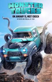 video monster truck accident monster trucks dvd release date april 11 2017