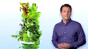 Aeroponic Vertical Garden What Is Tower Garden Vertical Aeroponic Growing System Youtube