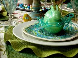 Easter Table Setting My Easter Table Setting Noble Pig