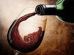 glass of wine by hidden rainbows on deviantart