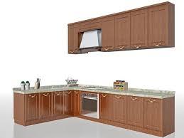 wooden kitchen design l shape l shape wooden kitchen design free 3d model max vray