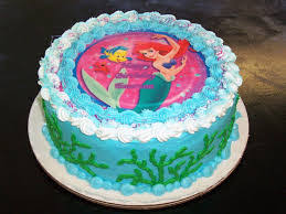 Cake Decorations At Home Birthday Cakes Images Ariel Birthday Cake Popular Decoration