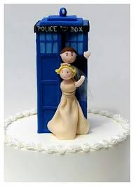 dr who cake topper julie tom s sci fi and carnival inspired treehouse wedding