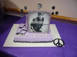 justin beiber cake wish list pinterest narodeninové torty